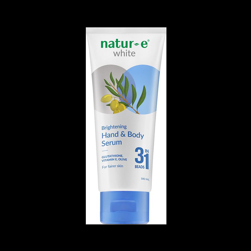 Natur-E White Brightening Hand & Body Serum