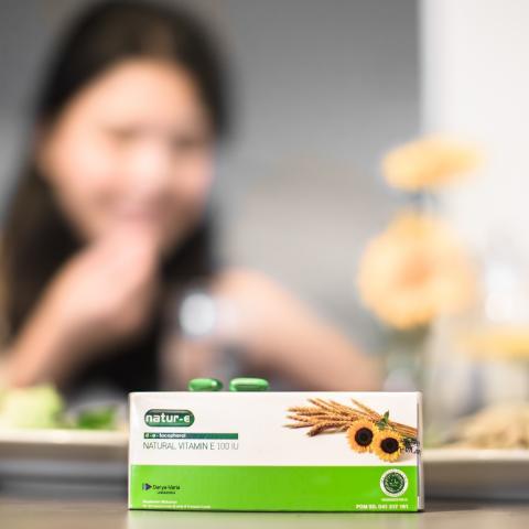 Natur-E, Vitamin Halal yang Aman Dikonsumsi Jangka Panjang