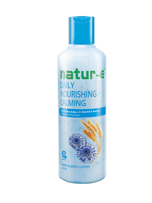Natur-E Biru Calming Hand & Body Lotion 245 ml