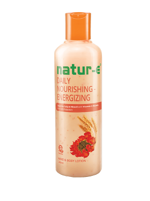 Natur-E Orange Energizing Hand & Body Lotion 245 ml