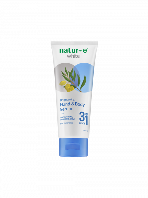 Natur-E White Brightening Hand & Body Serum